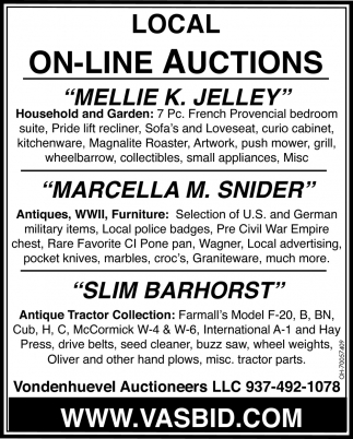 Local On-Line Auctions