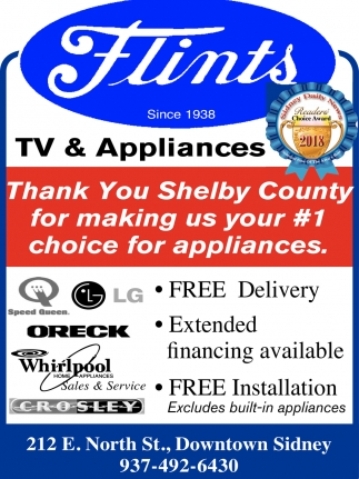 1 choice for appliances