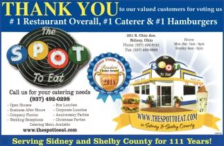 1 Restaurant Overall, 1 Carerer & 1 Hamburgers