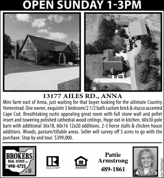 13177 Ailes Rd., Anna