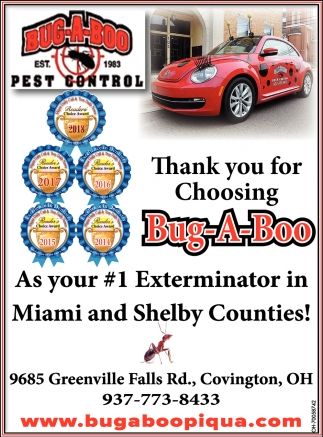 1 Exterminator in Miami and Shelby Counties