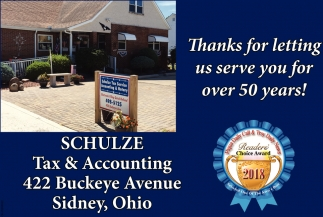Thanks for letting us serve you for over 50 years!