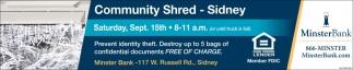 Community Shred
