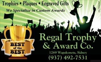 Trophies, Plaques, Engraved Gifts