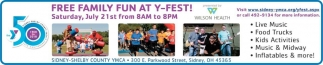 Free Family Fun AT Y-Fest!