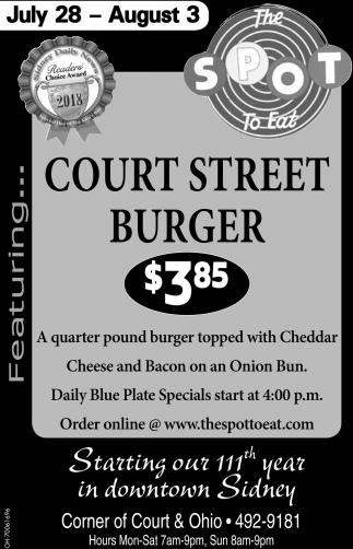 Court Street Burger