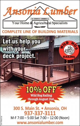 Complete Line of Building Materials