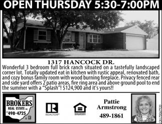 1317 Hancock Dr.