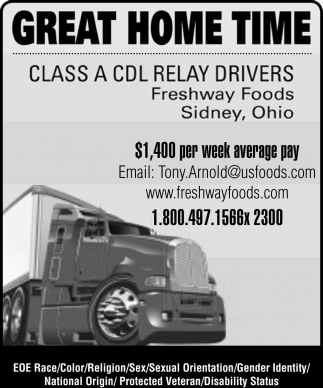Class A CDL Relay Drivers