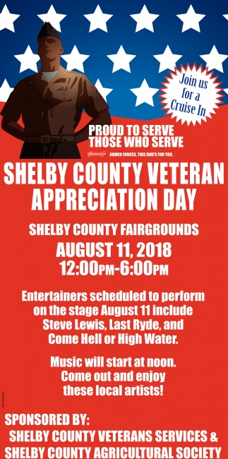 Shelby County Veteran Appreciation Day
