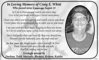 Craig E. Whitt