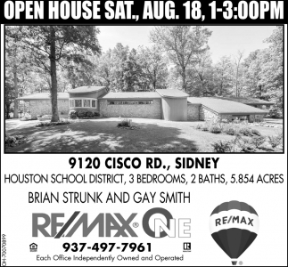 9120 Cisco Rd., Sidney