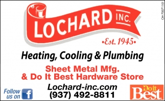 Heating, Cooling, Plumbing, Key Cutting, Window Repair
