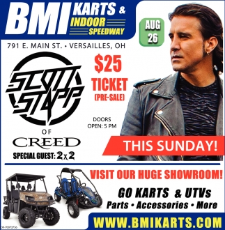 August 26 Scott Stapp
