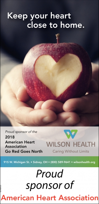 Proud Sponsor of American Heart Association