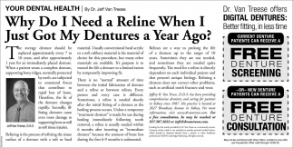 Freen Denture Screening / Denture Consultation