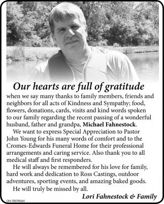 Lori Fahnestock & Family
