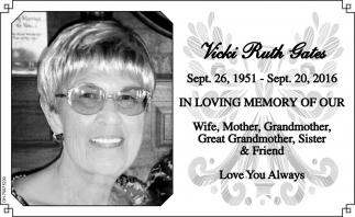 Vicki Ruth Gates