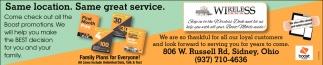 Same location. Same great service
