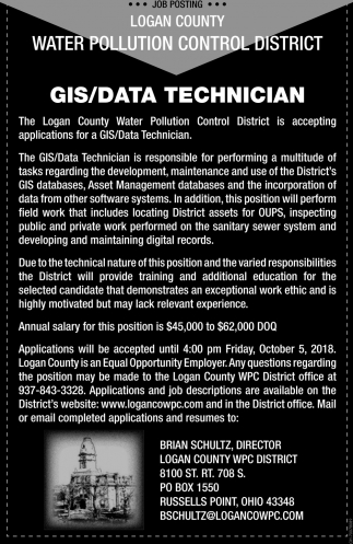 GIS/Data Technician