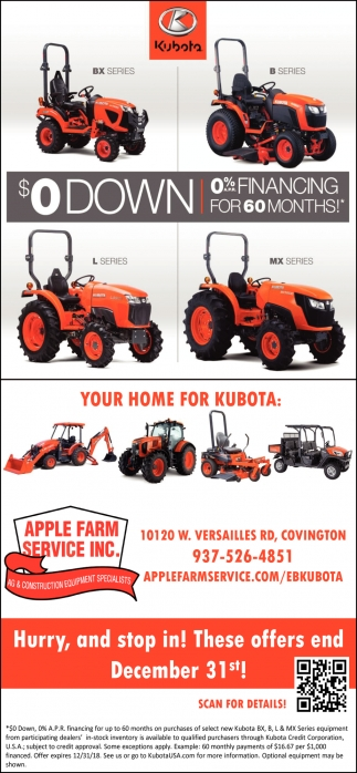 Your home for Kubota