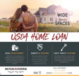 USDA Home Loan