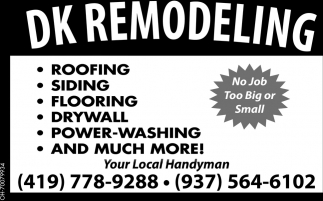 Roofing, Siding, Flooring, Drywall