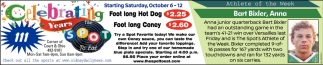 Foot long Hot Dog - Foot long Coney