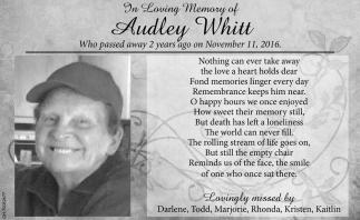 Audley Whitt