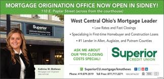 Mortgage Origination Office