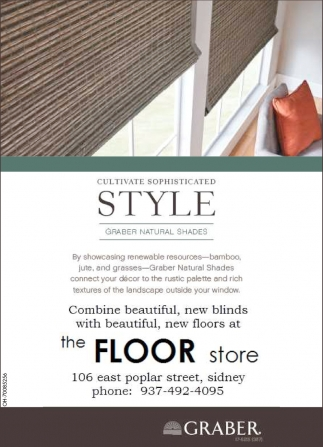 Combine new blinds with new floors at The Floor Store