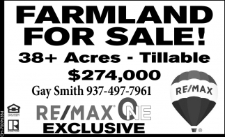 Farmland for sale!