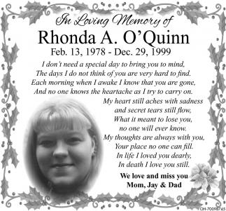 Rhonda A. O'Quinn