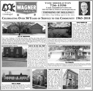Celebrating Over 51 Years of Service to the Community