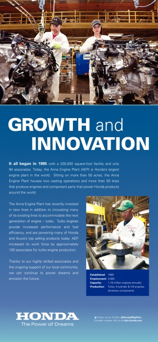 Growth and Innovation