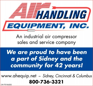 An industrial air compressor sales and service company