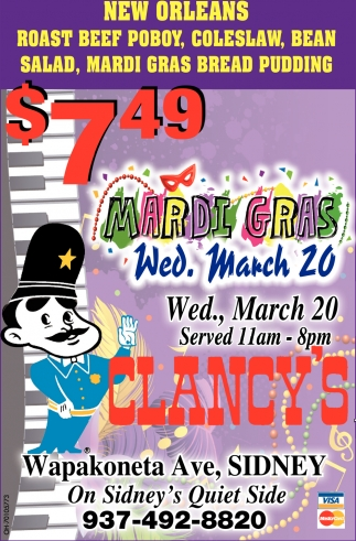 Mardi Gras March 20