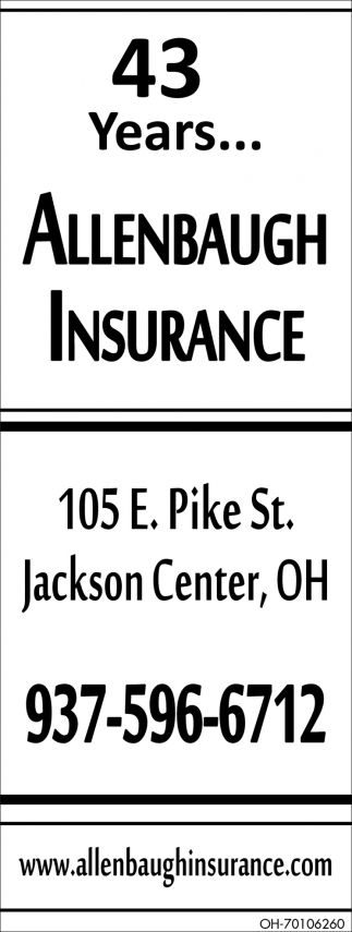 43 Years... Your Hometown Insurance Agency