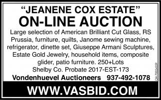 Jeanene Cox Estate