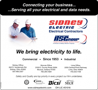 We bring electricity to life