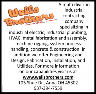 Multi division industrial contracting company