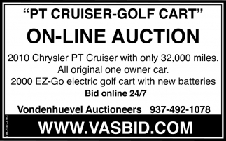 PT Cruiser-Golf Cart