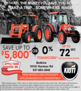 Save up to $5,800*