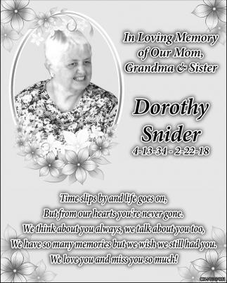 Dorothy Snider