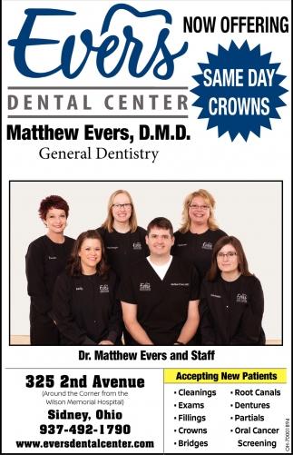 Matthew Evers, D.M.D.