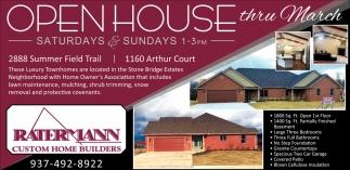 Open House thru March