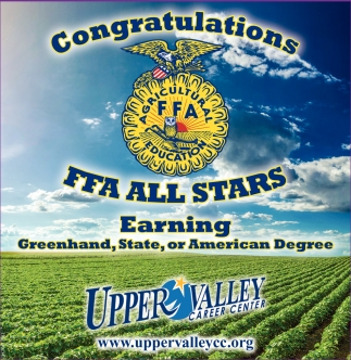Congratulations FFA All Stars