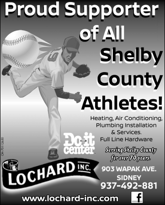 Proud Supporter of All Shelby County Athletes!