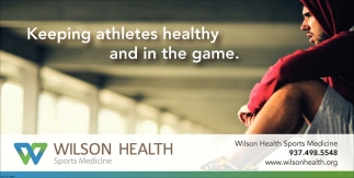 Keeping athletes healthy and in the game