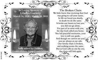 Gladys Gariety